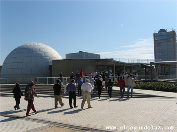el planetario de madrid