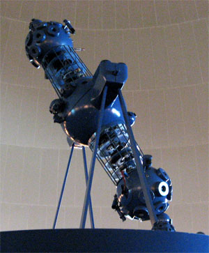 el proyector carl zeiss del planetario de madrid